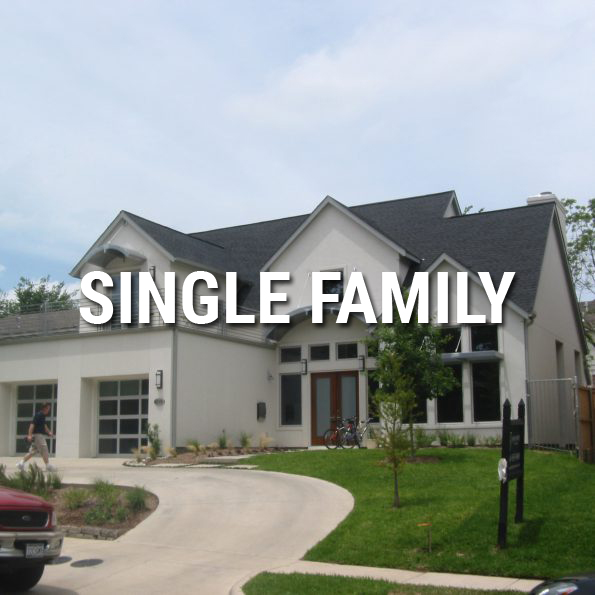 dallas architect single family